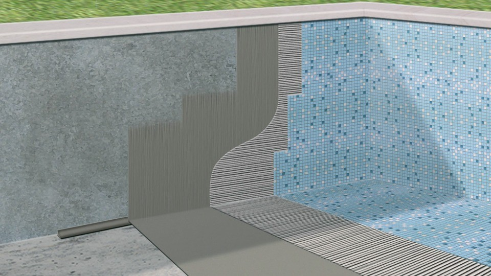 Sika cuvelage interesting sika cuvelage with sika for Sika peinture piscine