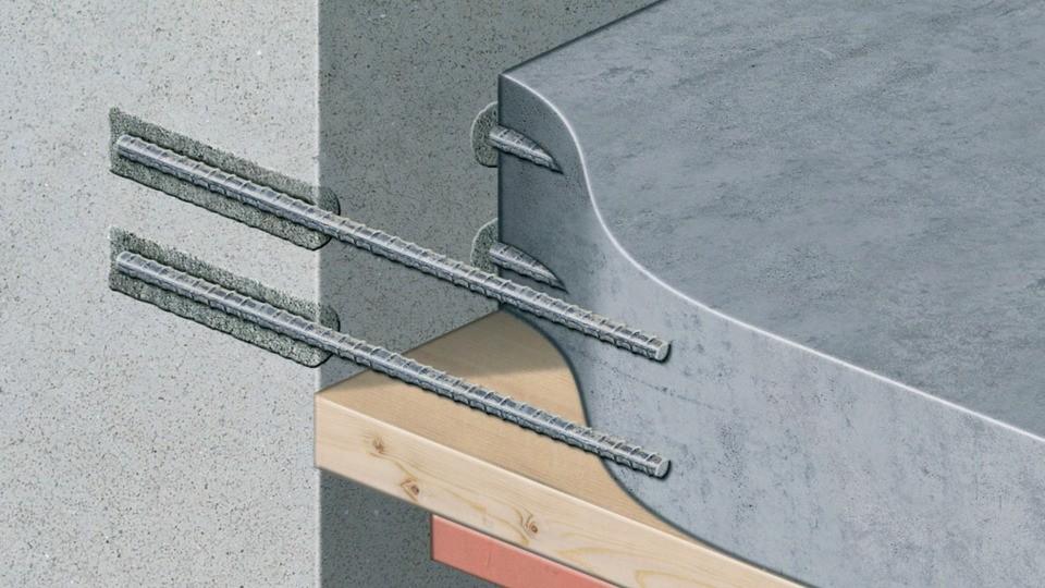 le scellement le calage et clavetage dans le b ton. Black Bedroom Furniture Sets. Home Design Ideas