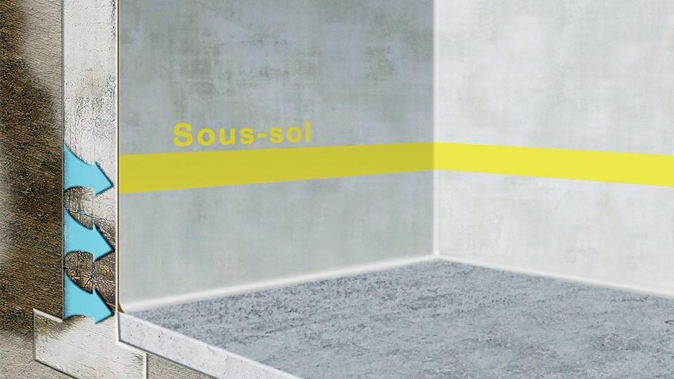 carrelage sous sol great carreler with carrelage sous sol et carrelage soussol with carrelage. Black Bedroom Furniture Sets. Home Design Ideas