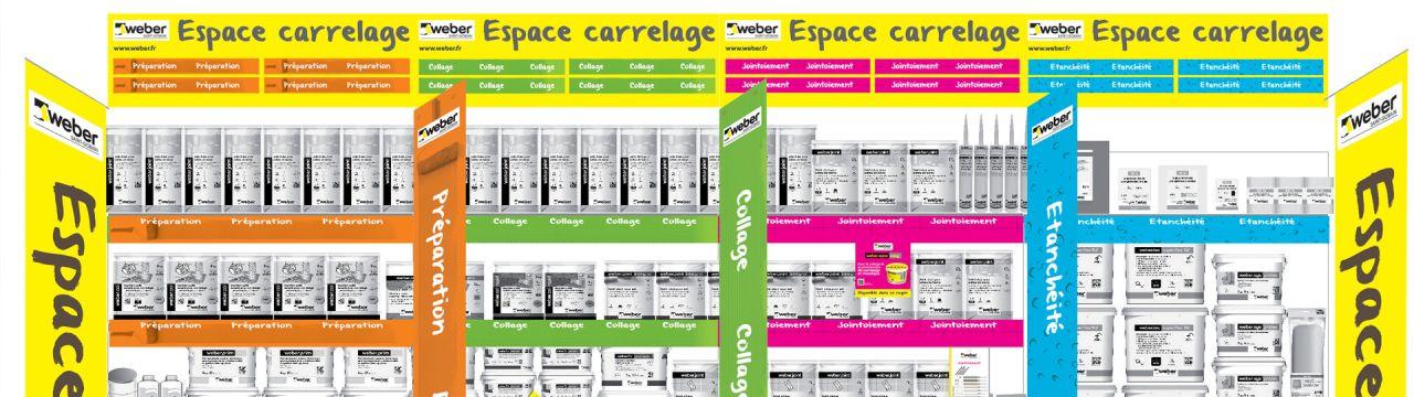 Espace carrelage | Weber