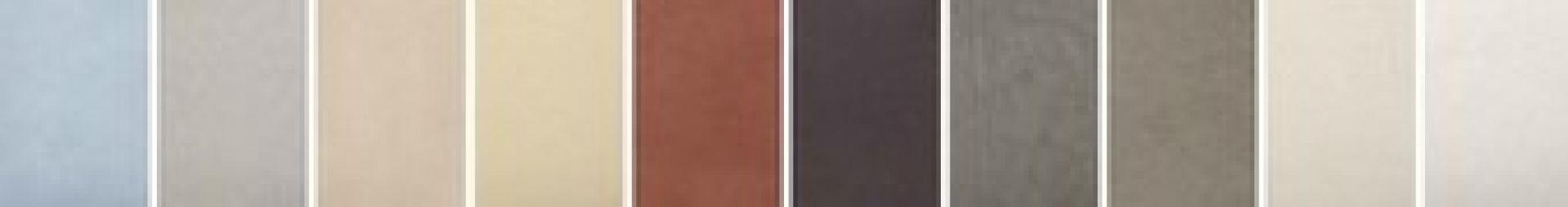 Nuancier De Couleurs Béton Ciré Weber Floor 4650