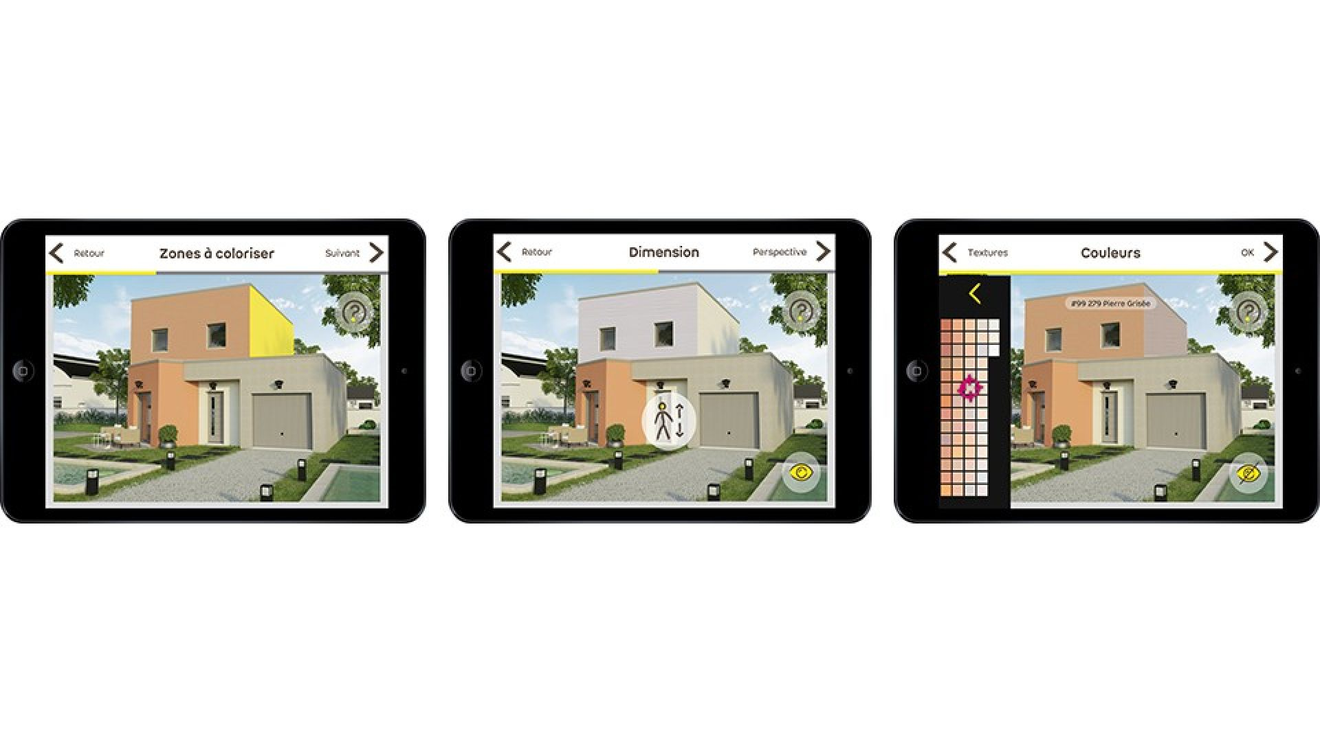 Couleur Extérieur Maison 2017 application pour simuler la couleur de sa future façade