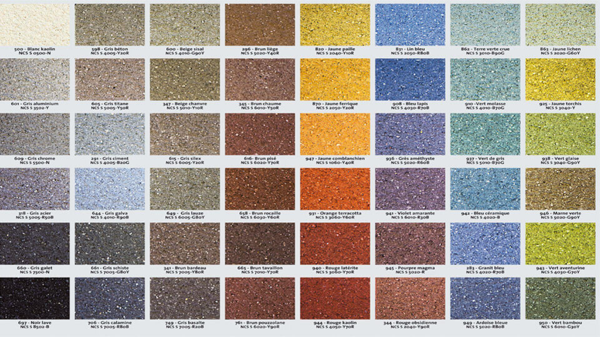 Crepi Exterieur Gris Anthracite les coloris | weber