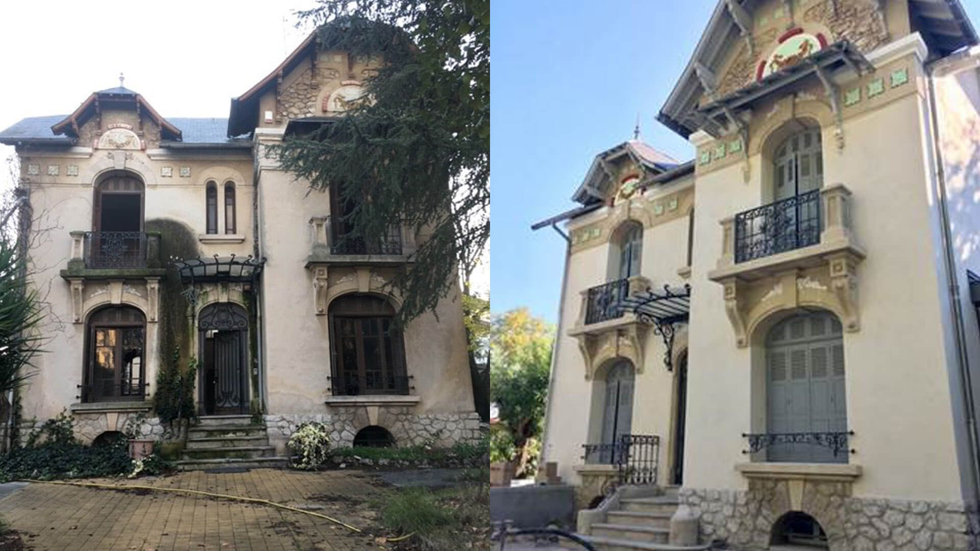 Couleur Façade Maison Ancienne façade maison : rénovation de façade | weber
