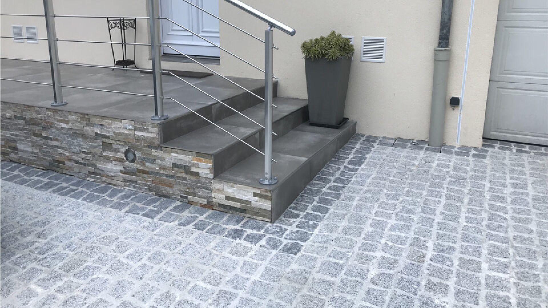 Amenagement Exterieur Terrasse Maison création d'une terrasse surélevée à saint-fargeau-ponthierry