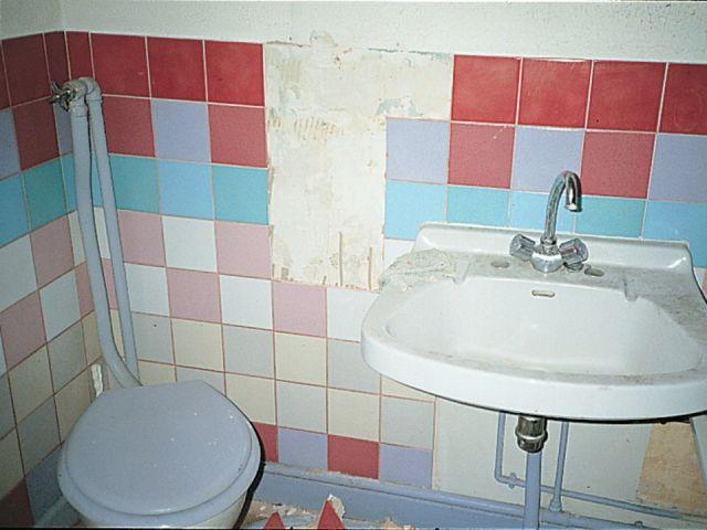 pose carrelage salle de bain sur ancien carrelage great. Black Bedroom Furniture Sets. Home Design Ideas