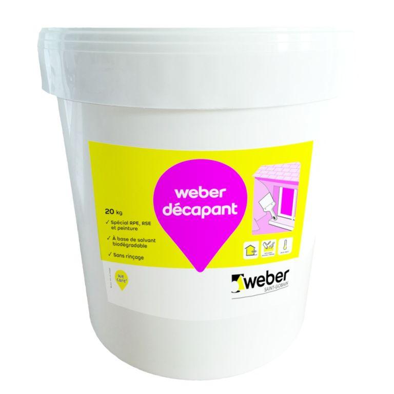 Weber Décapant Pour Le Nettoyage De Façade L Weber
