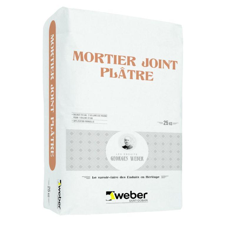 mortier joint plâtre