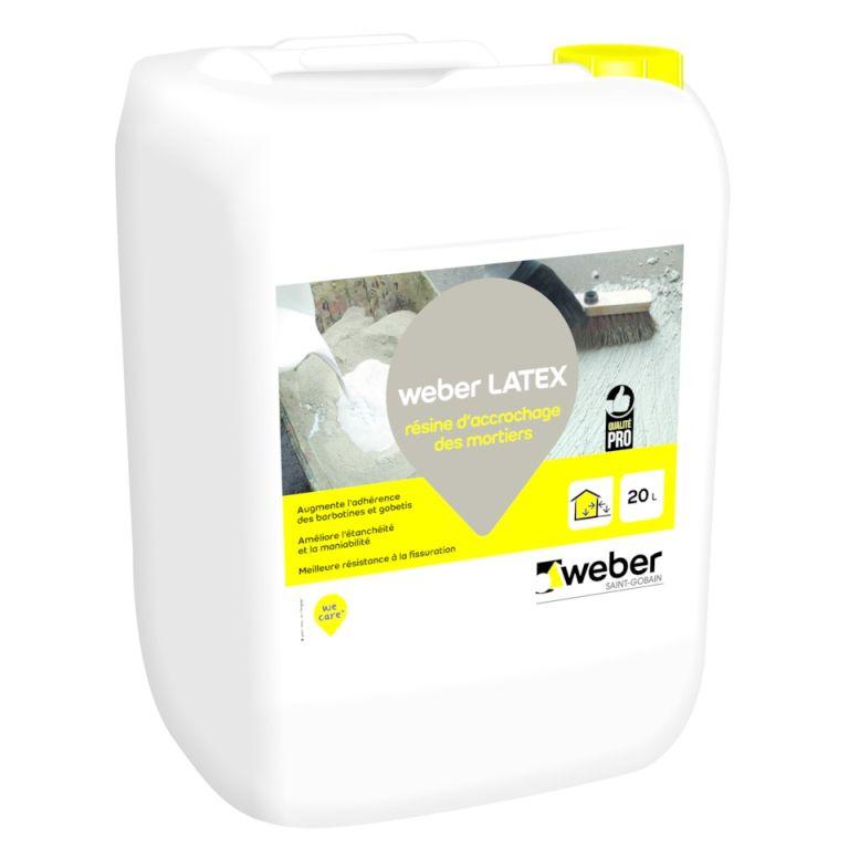 Weber Latex  Rsine DAccrochage Pour Mortiers Et Btons