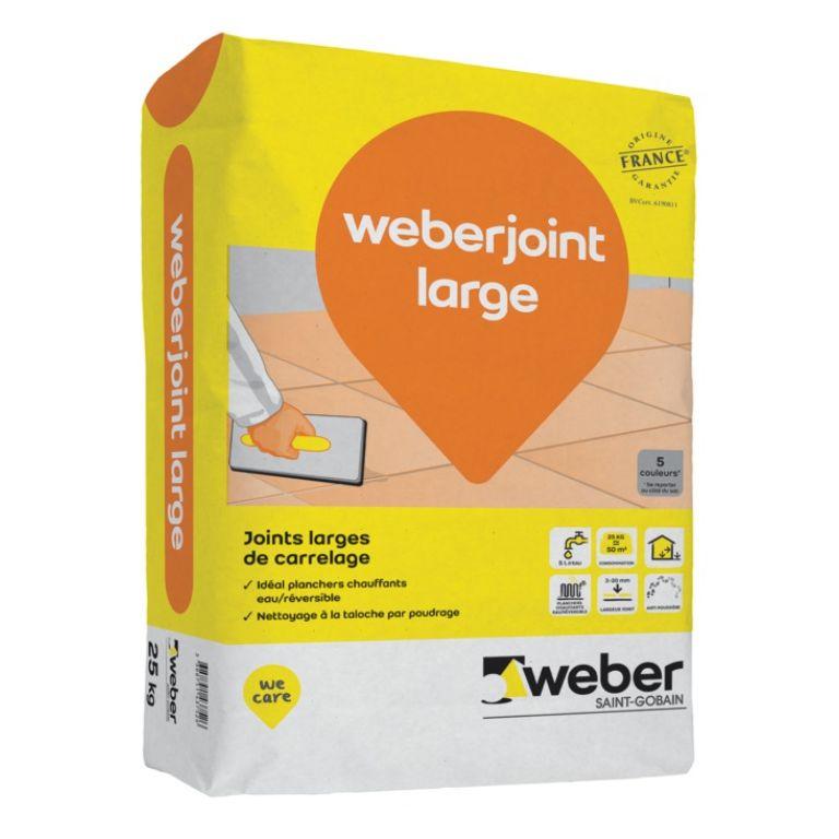 Weberjoint Large Mortier Pour Joint Large De Carrelage