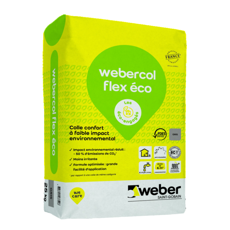 emballage_webercol flex eco gris_25kg
